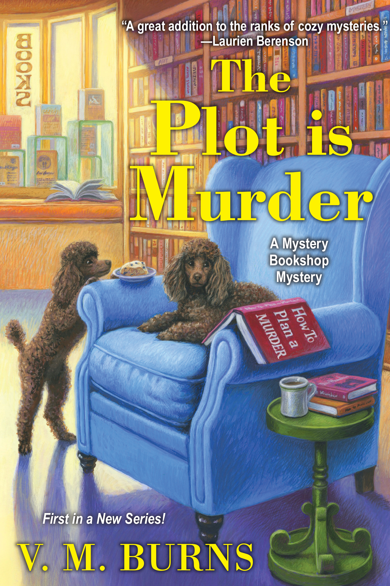 The Plot is Murder – Cover Reveal